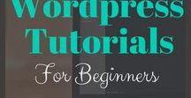 Wordpress Tutorials / Wordpress Tips, Tutorials, Web Design, Lead Generation, Blogging Tips, Marketing Tips Ideal For Beginners