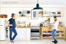 Well furnished kitchen / Interior design in every style to get inspiration for the kitchen / by Jacqueline Janssen