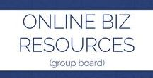 Online Biz & Entrepreneurship Resources |Group Board| / If you would like to join the group board, follow me, and message me letting me know. Rules, Pin-for-Pin, you Pin your own, and pin another's. No limits! Any and all things related to running an online business or running a blog business; e-commerce, online, finances, pre-launch, outsourcing, planning and continuing business, build online business, business blog, work-from-home business online, home office, entrepreneur, online business, sahm business, home-based biz, tips for online business,