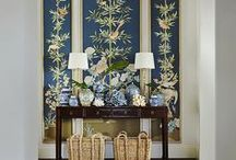 Chinoiserie / Art reference and Chinoiserie design