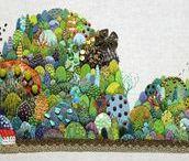 E = Embroidery, Kimika Hara