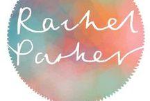 E = Embroidery, Rachel Parker