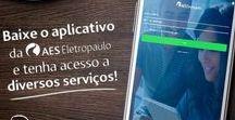 AES | Eletropaulo / Posts criados para a AES Eletropaulo entre o ano de 2016 e 2017. Fazem parte do projeto de reestruturação de identidade e tom de voz da marca nas redes sociais.