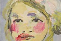 Artist Claire Tabouret, France