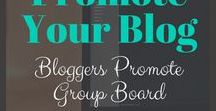 Bloggers Promote Group Board / A BRAND NEW group board for bloggers to promote their latest work.... Any niche (except the obvious ones) Blogging tips, advice and guidance. REPIN 1 for every image you PIN (Vertical high quality Pins ONLY) also invite 2 people so we can grow quickly.  To become a contributor FOLLOW ME and the BOARD... then message me and I will add you.