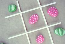 Crafts / Crafts for kids and adults that seem easy enough for this busy mom of three to actually do.