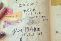 Sketchbook / Inspiring sketchbook pages.
