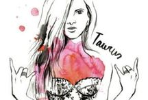 { Taurus Zodiac } / my personality according to my astrological sign is pretty dead on.  / by Sara Kobzanets