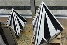 Die-Cut 3D Dimensionals In Retail