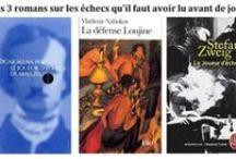 Échecs & Littérature / Les romans ayant pour thème le jeu d'échecs