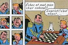 Echecs & BD / Les échecs dans les bandes dessinées