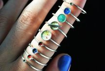 Rings / I love rings, they express so much about a person. Using this board to inspire my growing collection.  / by Joyce Ervin