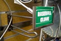 Baseball Merchandising Fixtures in Retail