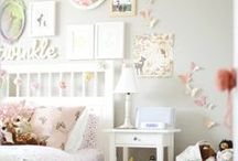 Girl's Bedroom Ideas / Ideas for renovating Mia's room! She's almost 7 years old and ready to create her own little haven :)