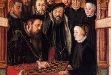 Echecs & Histoire / L'Histoire du jeu d'échecs au cours des âges au travers des tableaux