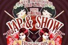 Jap&Show 2013 / Mandarina te presenta un nuevo concepto de fiesta: food & music. Todos los jueves podrás disfrutar de un Buffet sushi  servido por geishas y el mejor House de la mano de Dj Sista Nanoo y Frederic Ros