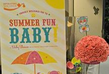 """""""Summer Fun, Baby"""" Fort Drum 2013 / """"Summer Fun, Baby"""" at Fort Drum, NY - July 2013 Sponsor Babies""""R""""Us, Photography by Memory Lane Photography NY, Inspired by the graphic designs by Hostess with the Mostess"""