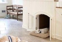For The Dog(s) / Built in beds, feeding stations, and storage ideas for the furry friends in my life.