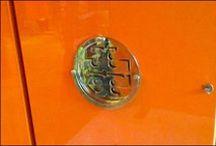 Color: Orange Fixtures in Retail
