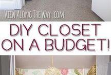Closets / closet organization/spare bedroom closet / by Brenda Lima-Mattessich