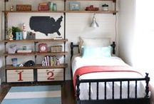 Boys Bedrooms / Inspiration for creating the bedroom of any boy's dreams!