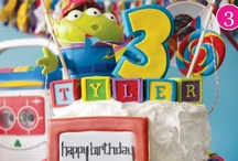 Toy Story birthday party inspiration / by Squared Wedding Press / Squared Party Printables