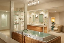 Bathroom Designs / Inspired design in the room that is used the most!  www.ideservepeace.com / by Shelley Rubalcava