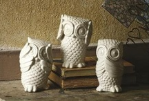 Design: Of OWL Things / an owl bank from Brazil from my uncle in the Peace Corps started the love / by Yellow Roses