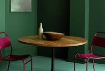 a room in colour / Colour saturated rooms and colour inspirations / by Sketchgirl & Co.