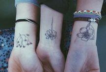 Tattoos& Piercings / by Haley McCloughan