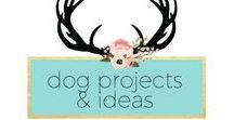 DIY Dog Projects and Ideas / DIY Dog Projects and Ideas, inspiration, crafts, home decor, pets, amylanham.com