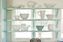 shelves / Shelves for kitchens, bedrooms, dining rooms....anywhere!  It's my next home project.....