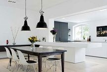 kitchens ~ 21st ~ contemporary / ideas for kitchen taps / layouts / worktops / materials
