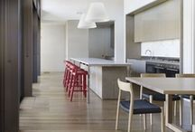 kitchens ~ red accents