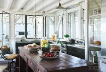 kitchens ~ cottage chic