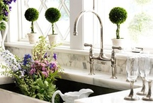 kitchen taps with 2 levers