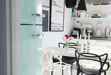 kitchens - green accents
