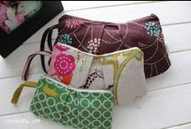 sewing: bags & pouches & holders. / need to hold stuff? patterns and inspiration for bags and pouches and holders.  / by pickel swimming