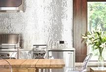 kitchen - trends 2013 / trending for 2013: islands, colour accents, metallics