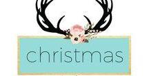 Christmas / Christmas ideas, inspiration, diy, winter wonderland, food, crafts, decor, amylanham.com