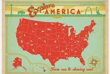 Vintage Travel Posters - US / by Melanie Marsh