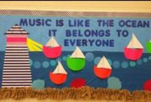Bulletin Boards for the Music Room