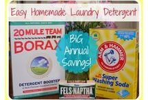 DIY Cleaners / Ideas and Recipes for Cleaning the Home.