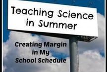 Science in Summer / Teaching Science in Summer with Outdoor or Messy Experiments.