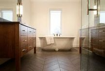 bathrooms / by Laura Ashby