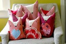 sewing: home. / sewing ideas for the house and organizing. / by pickel swimming