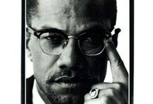 Malcolm X / Books and gifts about Malcolm X, sold at the National Civil Rights Museum