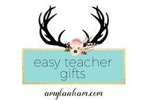 Easy Teacher's Gifts / Teachers Gifts, End of Year, amylanham.com
