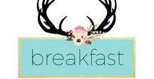 Make Ahead Breakfasts / Make ahead breakfast ideas, inspiration, meal prep and planning, paleo, gluten-free, healthy, easy, amylanham.com