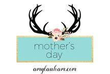 Mother's Day Gift Ideas / Mother's Day Gift Ideas, Inspiration, DIY, Homemade. amylanham.com